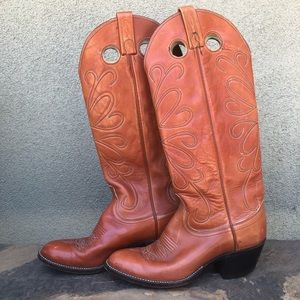 Dan Post vintage western riding boots